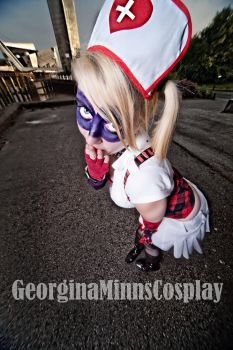 Harley Quinn cosplay! by Testystarfish