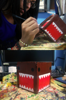 Domo-Kun Pencil Holder by Shi-Cake