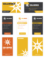 Cellwerx Business Cards by sampdesigns