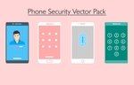 Phone Security Vector Pack by JuralMin