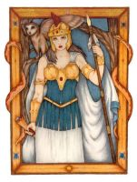 Athena Greek Goddess by lynx-the-ranger