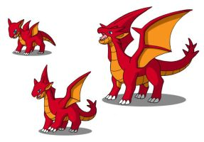 Geckoal and Evolutions by 070trigger