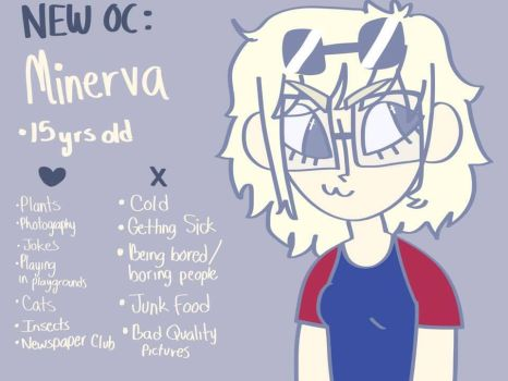 Little Character Profile : Minerva by Martha2003