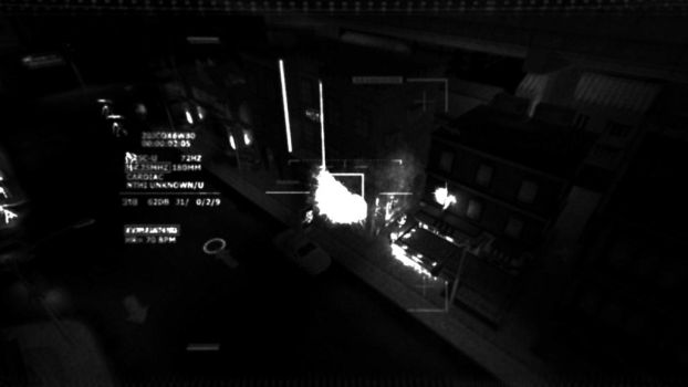 The Crack - Pre-Alpha gameplay screen [Ghost PRTC] by WetBassStudios