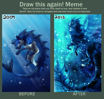 Draw this again Meme by KellBellz