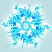Icicle Snowflake by JayceCruel