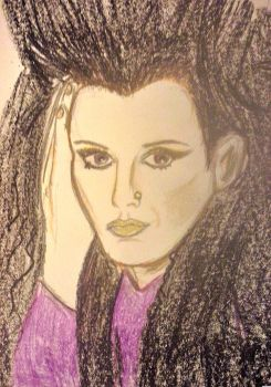 Another Pete Burns drawing by laracroftblog1000