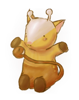 Girafarig :request: by Kelsi-sama