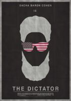 The Dictator - Minimalist Poster by JSWoodhams