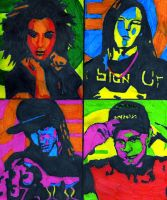 Tokio Hotel - colourful by HaanaArt