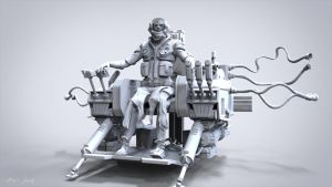 Mech Pilot by Bamboo-Learning