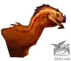 His Majesty's Dragon: Young Regal Copper by monsterling
