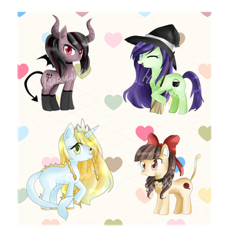 OTA-PonyAdopts. by VainisArt