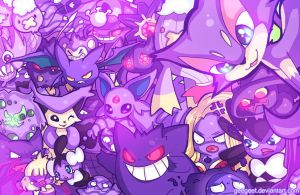 Purple Party by Geegeet