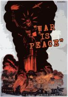 war is peace - 1984 by Swoboda