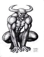 Demon 12-16-2013 by myconius