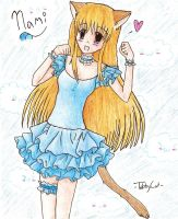 Nami- Fancy by TabberHatter