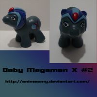 Baby Megaman X 2 by AnimeAmy