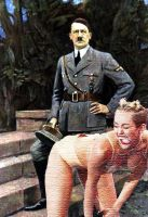 Miley twerks Hitler by crizzlesbuttons