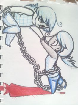 The chain is what holds 'us' by The-Hugger