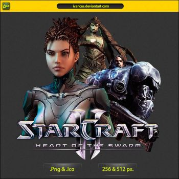 StarCraft 2 Heart of the Swarm - ICON by IvanCEs