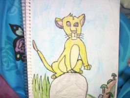 Simba Drawing by pussyfootqueen