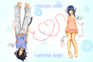 SasuHina: I am your Angel by drathe
