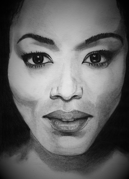Angela Bassett by TheCandleMaker
