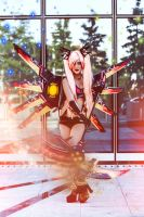 Spell Cosplay CFW from Hyperdimension Neptunia by Hekady