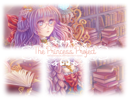The Princess Project | Library Princess :Preview: by xelalanana