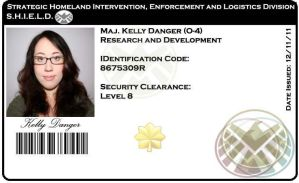 S.H.I.E.L.D. ID badge by kandell