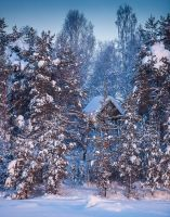 Jokkmokk Hunting Blind by Waylandscape