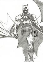 Jim Lee's Batman by bensonput