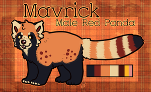 Commission - Mavrick by pandapoots