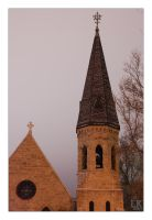 Bozeman Church by whitelouis