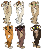 Adoptable Lioness- PENDING by DigiTamerKodi