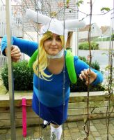 Fionna cosplay: Peek-a-Boo by ImRose