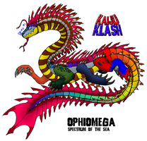 Ophiomega: Spectrum of the Sea by FiftyFootWhatever