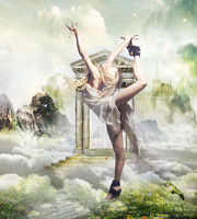 Dancer in Heaven, Photomanipulation by GWABOoOSH
