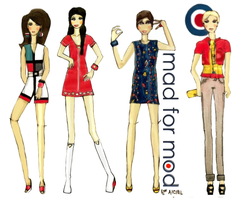 MAD FOR MOD Collection by shesgonepostal