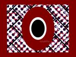 RED AND BLACK QUILT DESIGN by roup14