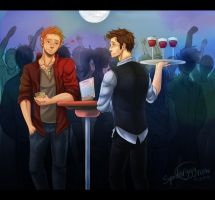 DeanCas- Disco AU by spider999now