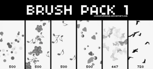 Brush Pack 1 by CupcakeDreamers
