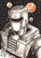 ROM Sketch Card Commission by ChrisMcJunkin