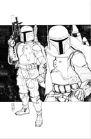 Father and Son: Boba/Jango Fett by Hodges-Art