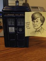 TARDIS Mugs Are Cool by RobtheDoodler