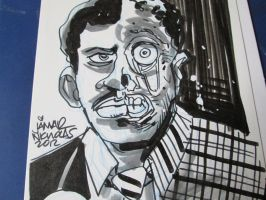 Billy Dee Williams Two-Face by Jamar Nicholas by VampyrNecromancer