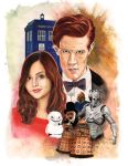 Doctor Who by Pigeonpixel
