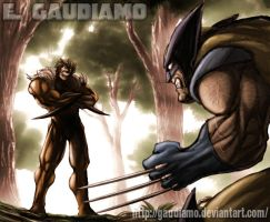 Enter the Sabretooth by gaudiamo