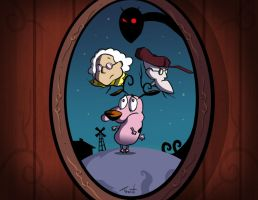 the Cowardly Dog by TraiN8